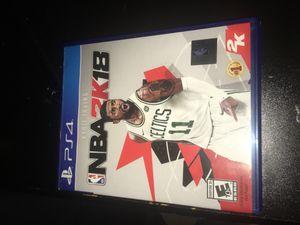 NBA 2k18 for Sale in Lakewood, WA