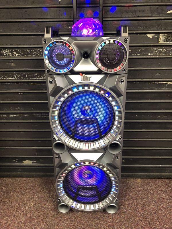Bluetooth speaker 🔊 karaoke 🎤