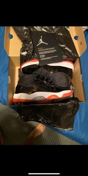 Jordan 11 Bred, Size 10.5 for Sale in Modesto, CA