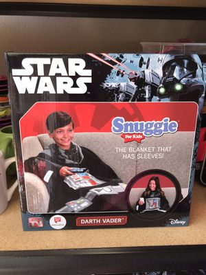 Kids Star Wars Darth Vader Snuggie ONE SIZE for Sale in McMinnville, OR