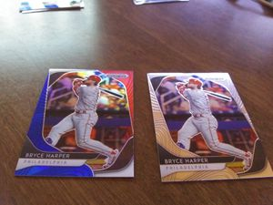 Bryce Harper Prizm 2 Card Lot for Sale in Hardeeville, SC