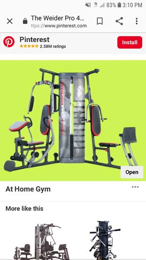Weider Home Gym for Sale in Gloucester, MA