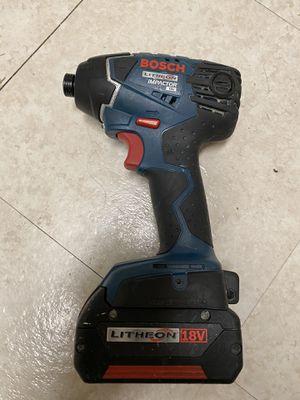 Bosch impact drill for Sale in Alexandria, VA