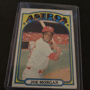 Joe Morgan Astros baseball card for Sale in Columbus, OH