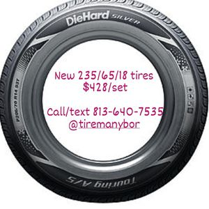 New 235/65/18 tires cheap $428/set Tireman for Sale in Tampa, FL