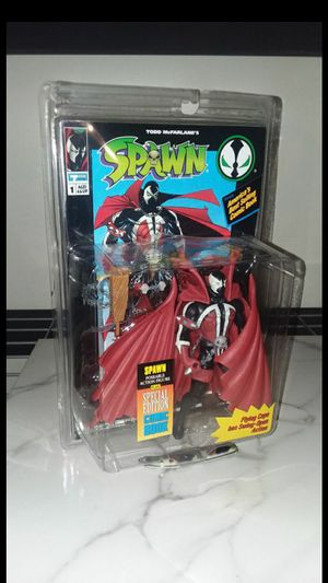 McFarlane Toys Spawn Flying Cape Action Figure 1994 Mcfarlane Series. **Never Opened** for Sale in Fairburn, GA