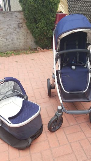 Uppababy Vista Stroller & Bassinet for Sale in Los Angeles, CA