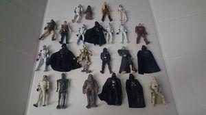 Star wars figure lot for Sale in Pasadena, TX