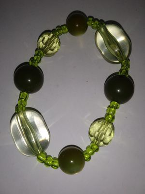 Green stretchy bracelet for Sale in New York, NY