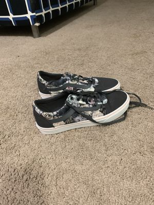 Flowery Vans Size 10US Women's for Sale in Tampa, FL