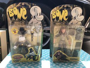 Jeff Smith Bone Action Figure Lot (5) for Sale in Garden Grove, CA