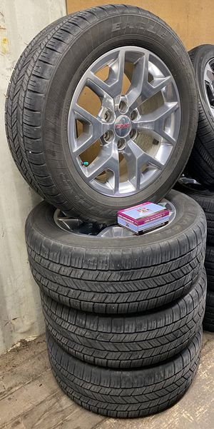 "2018 GMC factory/OEM 20"" wheels/tires like new take offs for Sale in Victoria, TX"