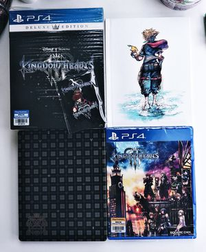 Kingdom Hearts 3 deluxe box set for Sale in Washington, DC