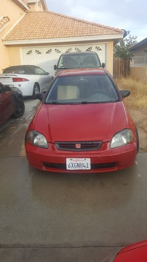 96 Honda hatchback for Sale in Victorville, CA