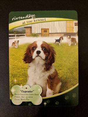 """Nintendogs At the Kennel """"Cupcake"""" Trading Card 5/33 for Sale in Manassas, VA"""