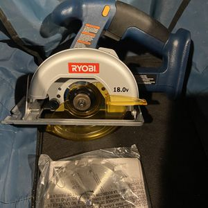 New Ryobi 18v Circular Saw And Carrying Bag for Sale in Aurora, OH