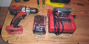 Milwaukee drill 18 v red lithium for Sale in Kennewick, WA