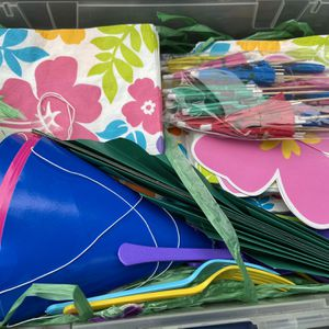 Hawaiian Luau Theme Party Supplies for Sale in Renton, WA