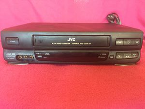 JVC 4 Head High Quality VCR for Sale in Los Alamitos, CA