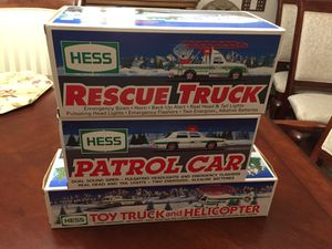 Hess toy vehicles for sale! for Sale in CT, US