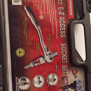 Thorsen 34 Pc E-Z Access Socket Set for Sale in Vancouver, WA