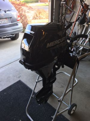 Mercury four stroke boat motor for Sale in Rancho Cucamonga, CA