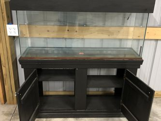 55 Gallon Fish Tank With Cabinet for Sale in Caseyville,  IL