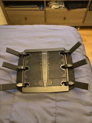 Netgear nighthawk x6 ac3200 tri-band WiFi router model r8000 for Sale in Farmingdale, NY
