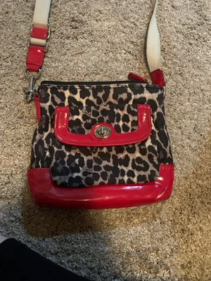 Cheetah coach bag for Sale in Pleasant Hill, IA