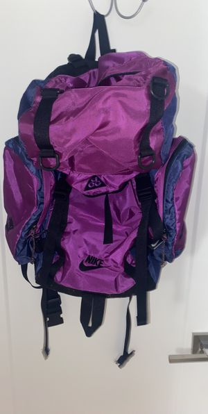Vintage ACG hiking backpack for Sale in Glenview, IL