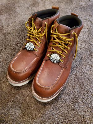 Steel toe work boots for Sale in Moreno Valley, CA