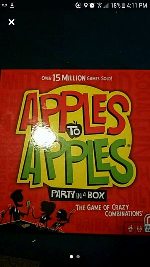 Apples to apples board game for Sale in Colorado Springs, CO