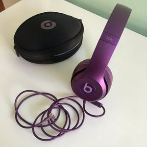 beats solo2 purple headphones for Sale in Los Angeles, CA