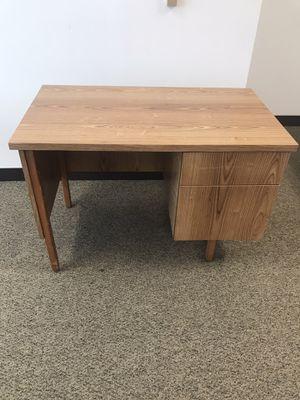 Wood desk for Sale in Aliso Viejo, CA