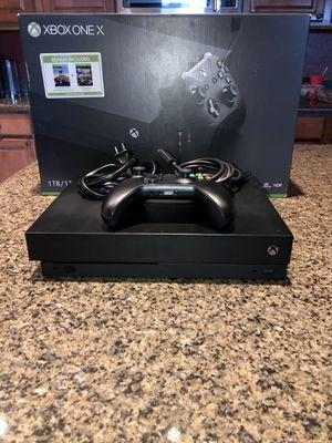 Xbox One X 1TB for Sale in Phoenix, AZ