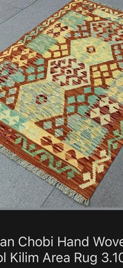 Afghan Chobi Handwoven Wool Area Rug for Sale in Alhambra,  CA