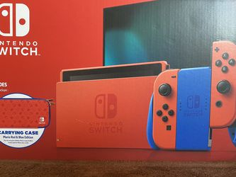 Nintendo Switch Red Blue Mario Edition - Brand New In Box for Sale in Portland,  OR