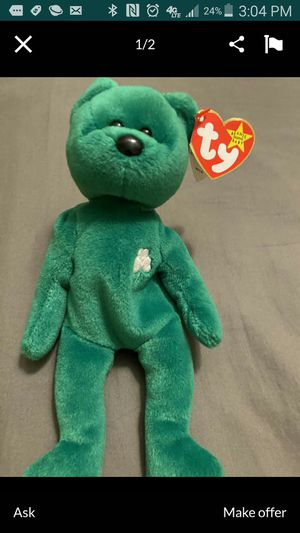 Erin ty beanie baby RARE for Sale in Loomis, CA