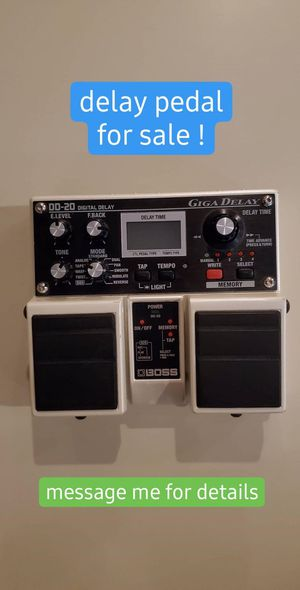 Boss DD-20 Giga Delay guitar pedal for Sale in Grand Rapids, MI