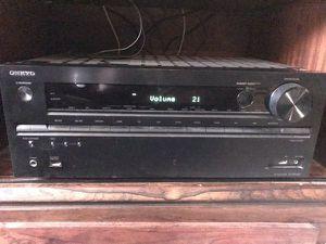 Onkyo TX-NR636 Dolby Atmos receiver. Surround sound for Sale in Marysville, WA