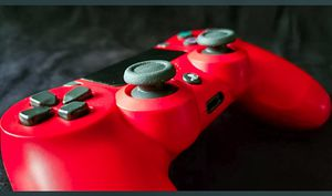 PS4 Dual Shock - Magma Red for Sale in Detroit, MI