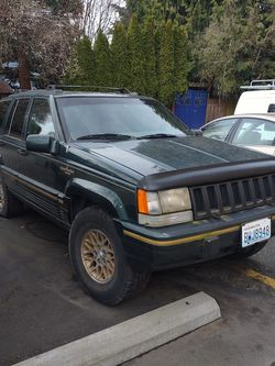 94 Jeep Grand Cherokee Limited. 5.3L V8, Full Time 4x4. for Sale in Seattle,  WA