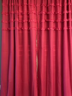 Girls Bedroom Pink Curtains for Sale in Springfield,  VA