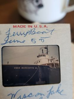 Three 35mm Slides of Boats On Lake Michigan, late 50s for Sale in El Mirage,  AZ