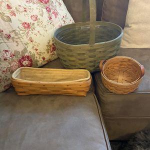 Longaberger Baskets for Sale in Brandywine, MD