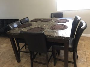 Dining table set (6 chairs) for Sale in Las Vegas, NV