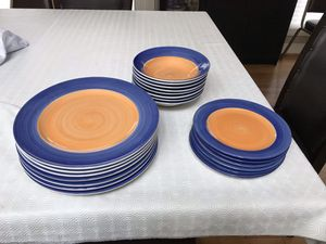 Set of dinner plates & bowls for Sale in Silver Spring, MD