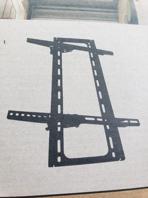 Tilt tv wall mount fits 22 to 70 inch..new in the box for Sale in Plano, TX