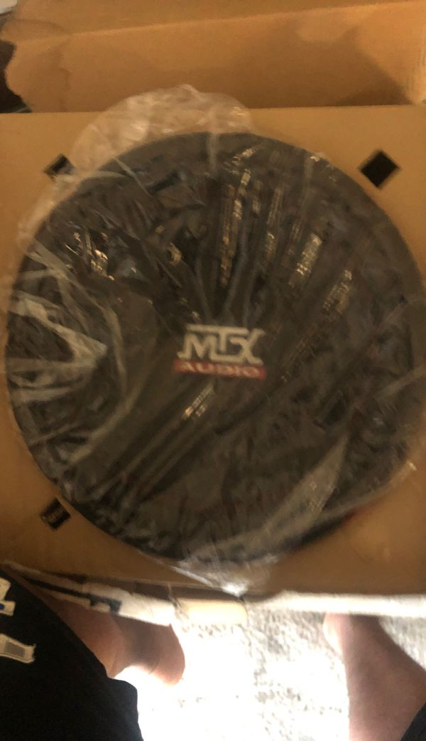 MTX Audio RT12 Single Subwoofer