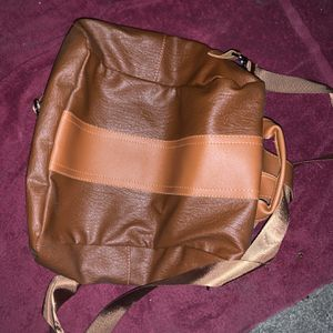 Brown Leather Backpack Purse for Sale in Palo Alto, CA